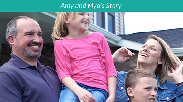 Starting RAVICTI: Amy and Mya's story